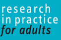 in partnership Research in Practice for Adults